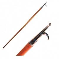 Крюк отпорный 1800мм, деревянная ручка