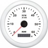 Тахометр 6000 об/мин со счетчиком моточасов (WW), SR:1-10