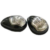 Комплект бортовых огней со светодиодами (черный)