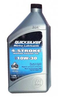 QuickSliver 10W-30  4-stroke Marine Engine Oil   (1л)