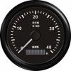 Тахометр 4000 об/мин со счетчиком моточасов (BB), SR:0.5-250