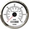 Спидометр GPS аналоговый (WS), 60 узл.
