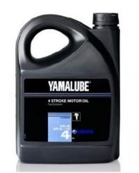 Yamalube 4  SAE 10W-40 API SJ/CF Marine Synthetic (4л)